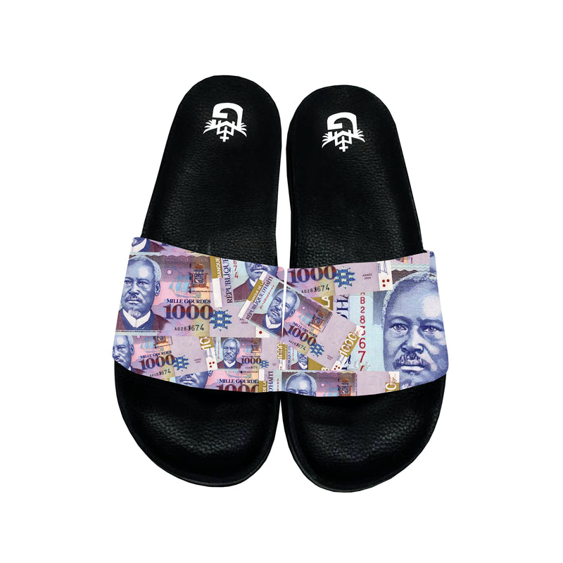 TMMG HAITIAN MONEY 1000 GDES SANDALS