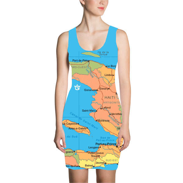 TMMG HAITI MAP DRESS