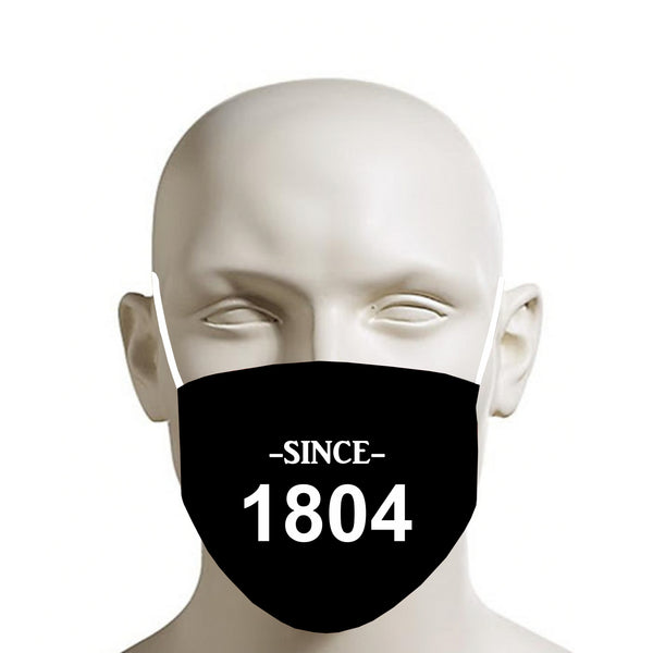 BLACK TMMG HAITI SINCE 1804 FACE MASK