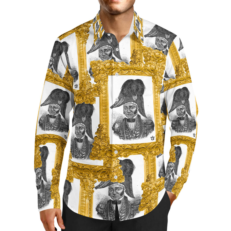 TMMG JEAN JACQUES DESSALINES ALL OVER DRESS SHIRT