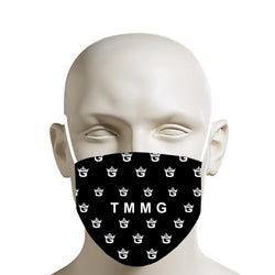 TMMG ALL OVER LOGO MOUTH MASK