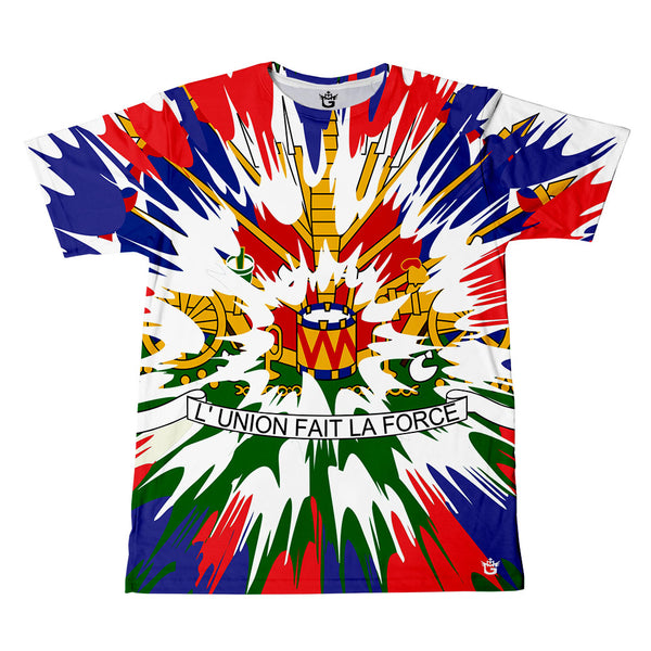 TMMG L'UNION FAIT LA FORCE TIE DYE STYLE T-SHIRT