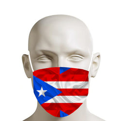 TMMG PORTO RICO FLAG MOUTH MASK