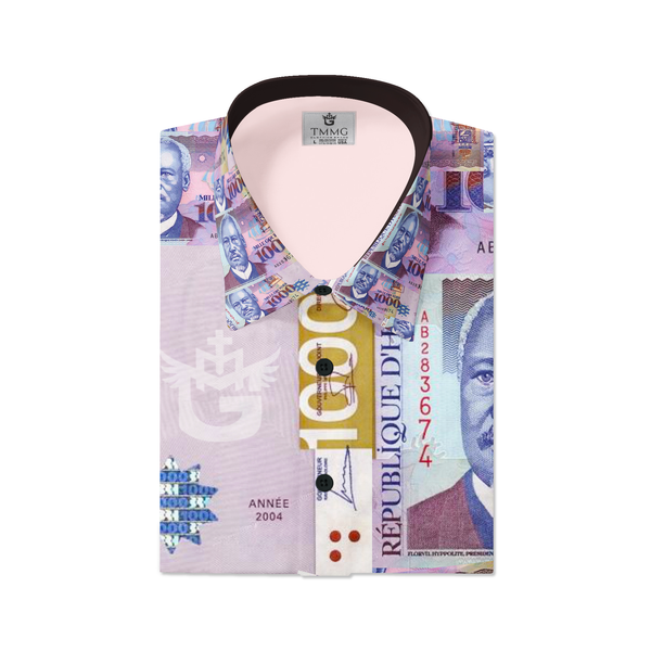 MEN'S FASHION TMMG 1000 GDES DRESS SHIRT