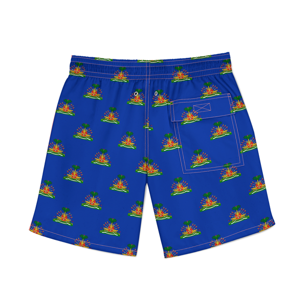 TMMG HAITI ALL OVER SWIM SHORTS