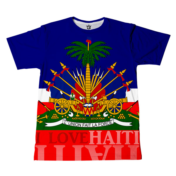 TMMG BLUE HAITIAN FLAG Tee / kids Collection (Toddler & Youth)
