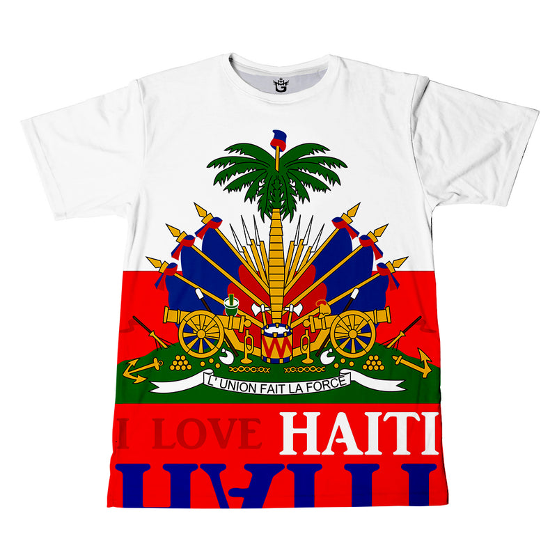 TMMG WHITE HAITIAN FLAG Tee / kids Collection (Toddler & Youth)