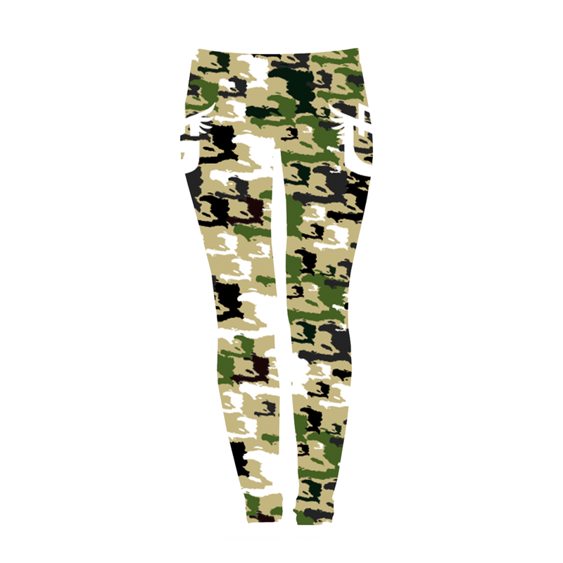 TMMG HAITI CAMO LEGGINGS
