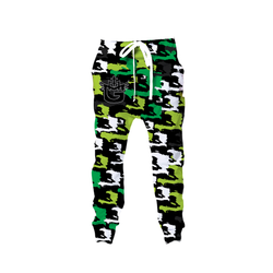 TMMG HAITI MAP GREEN CAMO JOGGERS