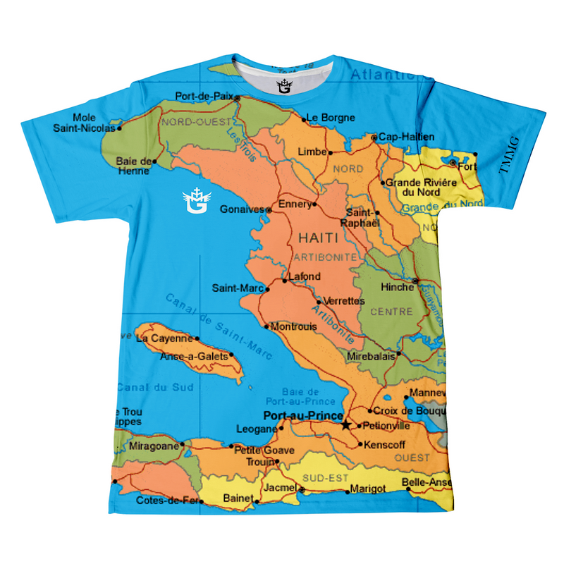 TMMG HAITI MAP T-SHIRT