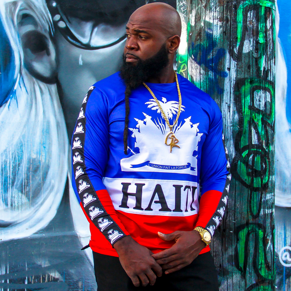 TMMG HAITI SIGNATURE LEGACY LONG SLEEVE T-SHIRT