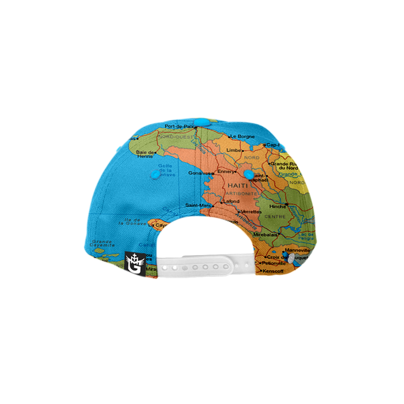 TMMG HAITI MAP SNAP-BACK HAT