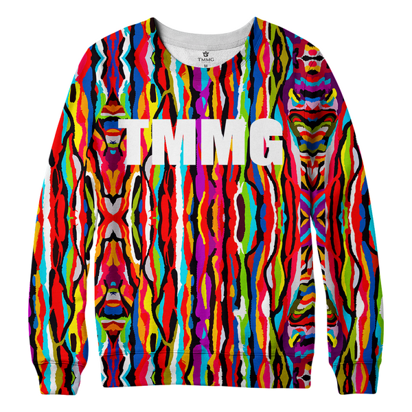 TMMG PAINTED SWEATER