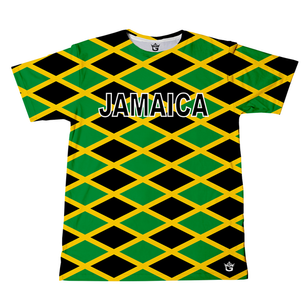 TMMG JAMAICAN FLAG ALL OVER T-SHIRT