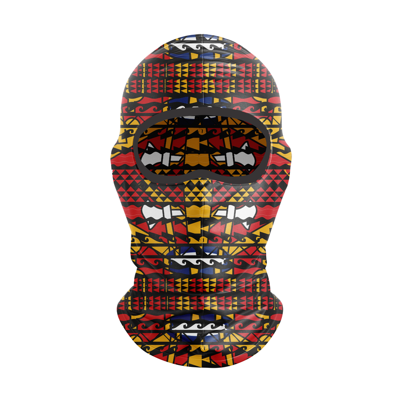 TMMG TRIBAL PRINT SKI MASK