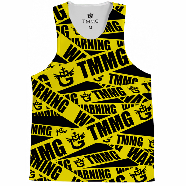 TMMG WARNING TANK TOP