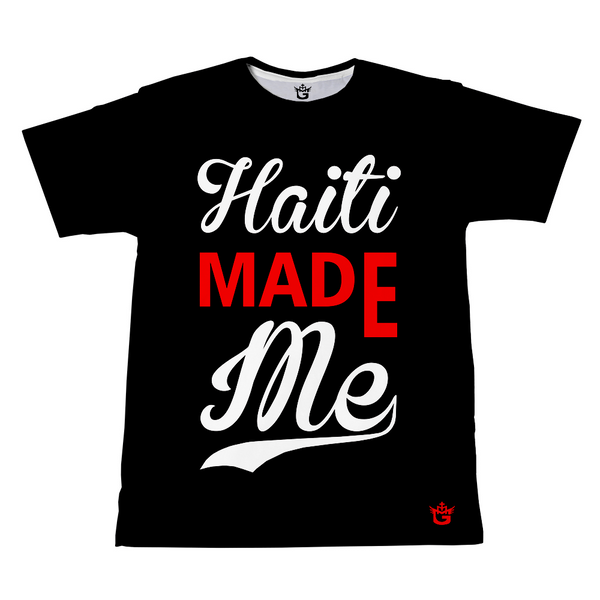 TMMG BLACK HAITI MADE ME T-shirt