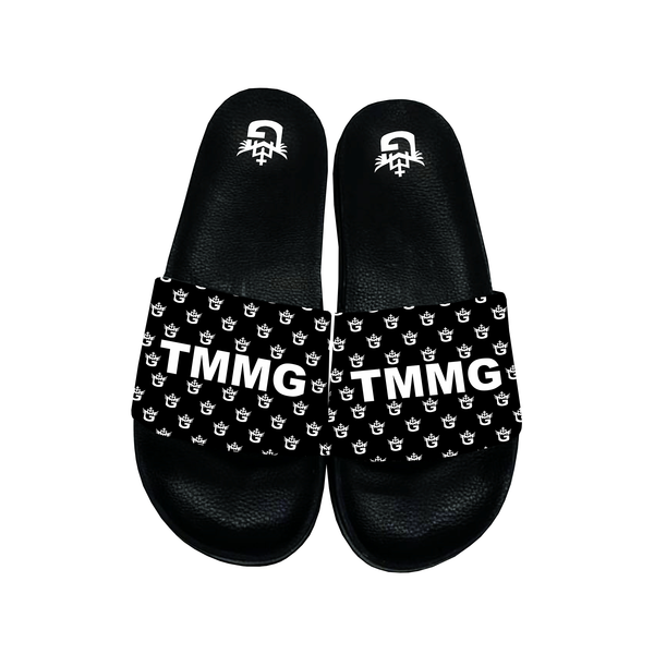 TMMG LETTER LOGO ALL OVER SANDALS