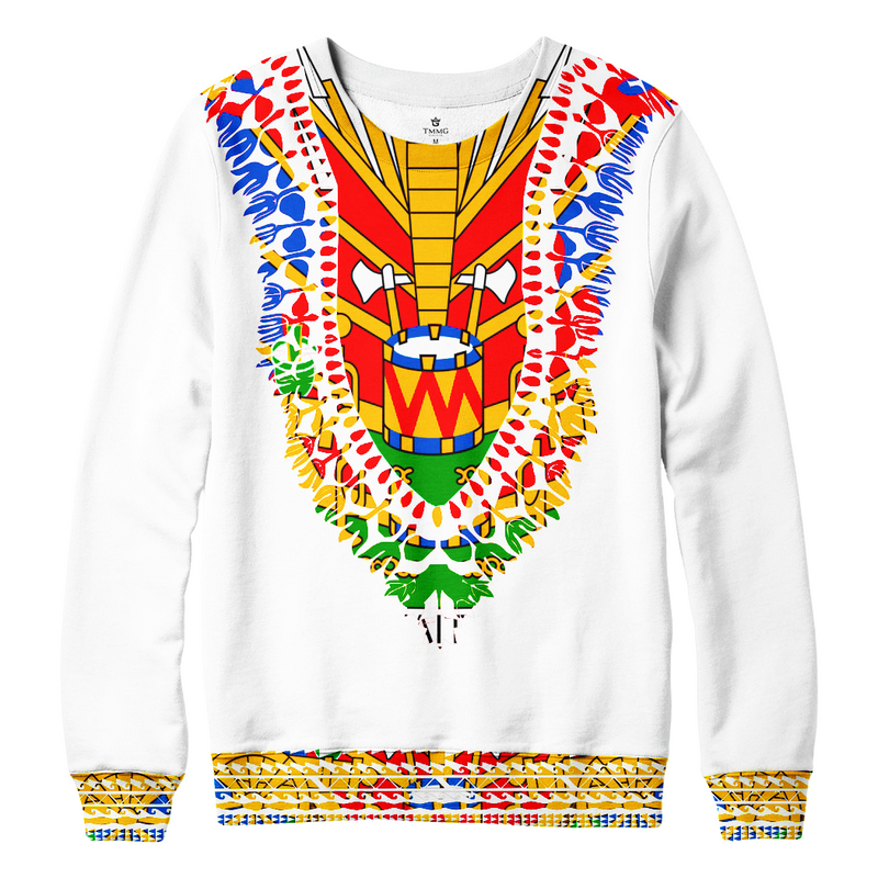 TMMG HAITIAN FLAG DASHIKI SWEATER