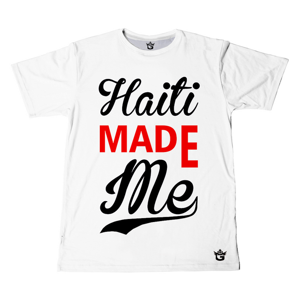 TMMG WHITE HAITI MADE ME T-SHIRT
