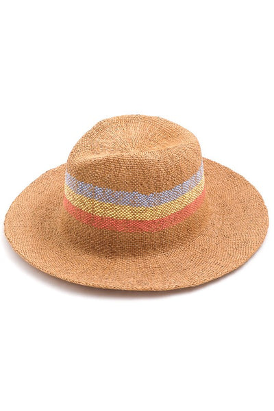 astrid striped floppy hat