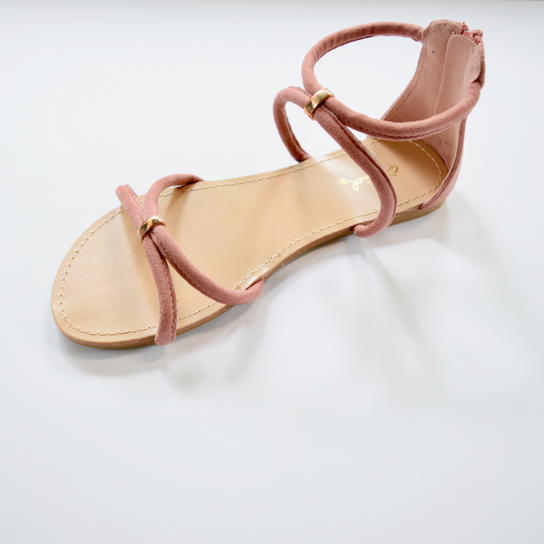 criss cross flat sandle