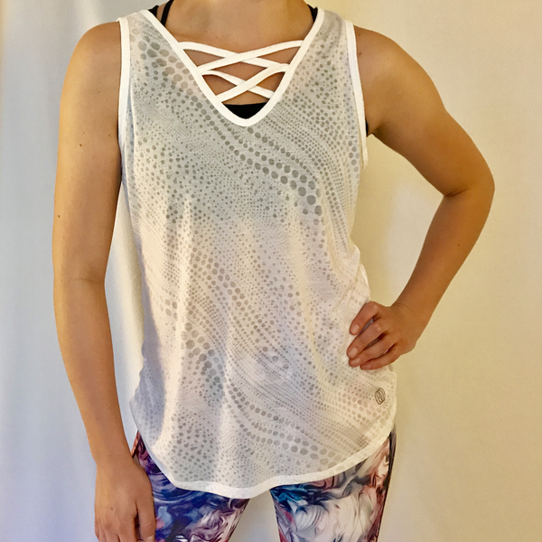 burnout criss cross tank