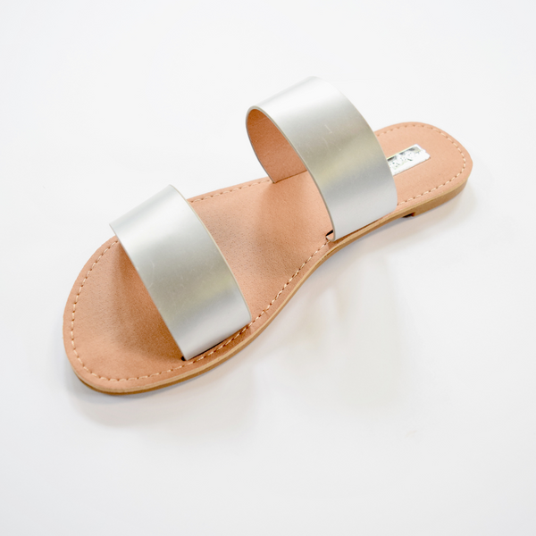 cuffed slide sandle