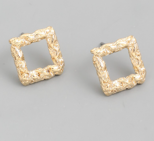 mini square stud