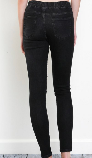 pull on moto jean jegging