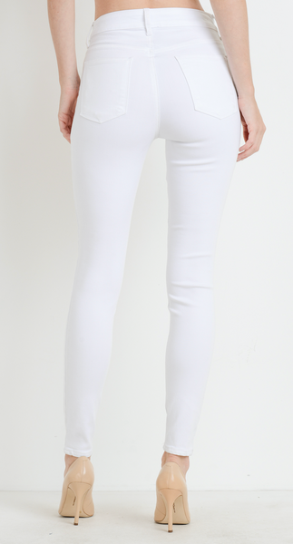 high rise basic skinny jean