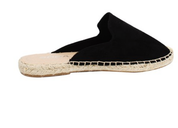 crochet slip on espadrille