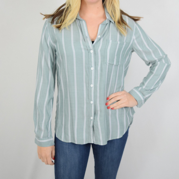 alanna button down blouse