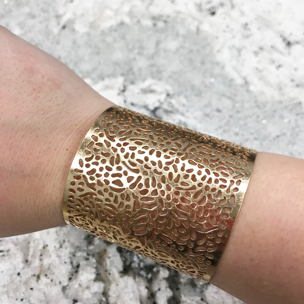 abstract punch out cuff
