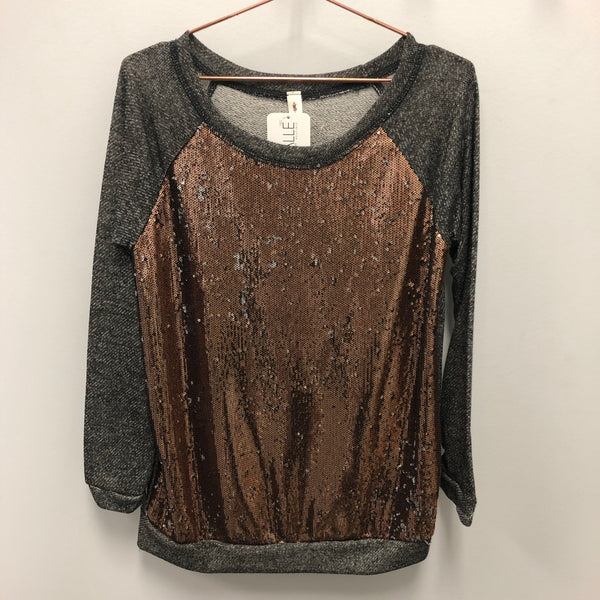 party sequin pullover