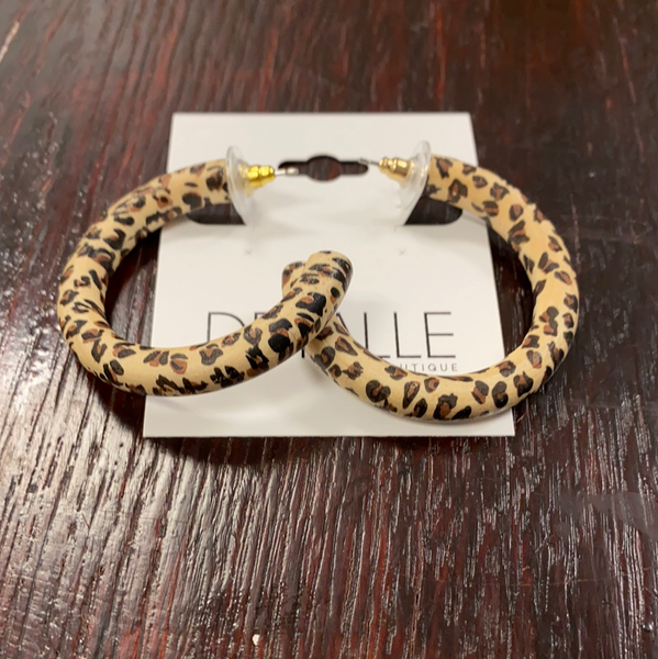 cheetah tube hoop