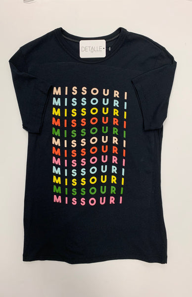 rainbow party Missouri tee