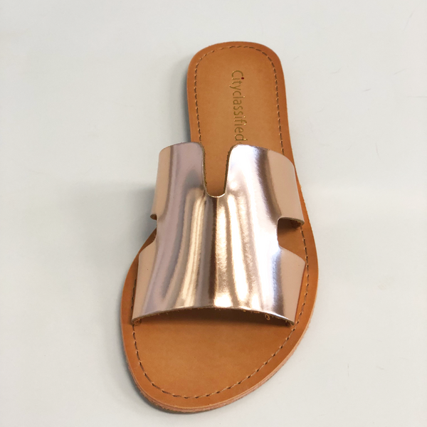 Salvia rose gold sandal