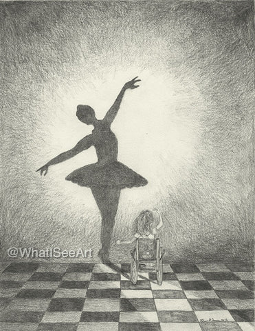 "Beautiful Dancer (8""x10"")"