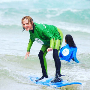 Kids Surfing Lessons for Children aged 6 - 12 years at Watergate Bay in the summer holidays