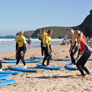 Full Day Group Surfing Lessons