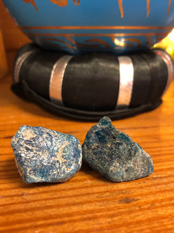 Apatite-Blue rough