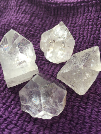 Apophyllite Points - Clear