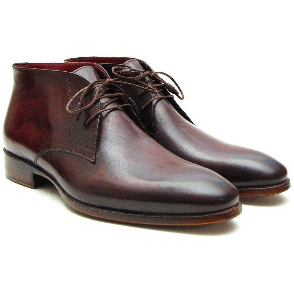 Chukka Boots Brown & Bordeaux - West Nineties