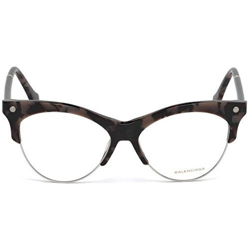 Balenciaga BA 5053 BA5053 055 Havana Glasses - West Nineties