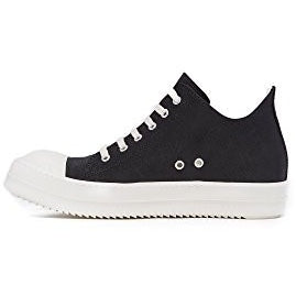Rick Owens DRKSHDW Men's Low Top Sneakers, Black, 44 EU (11.5 D(M) US Men)
