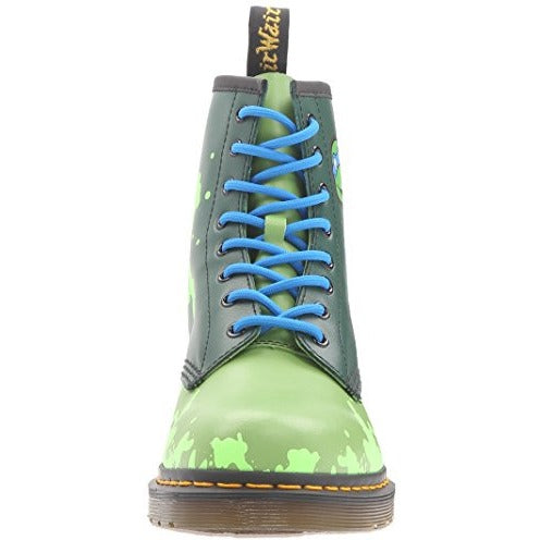 Dr. Martens Men's Leo Chukka Boot, Leather Green, 8 UK/9 M US - West Nineties