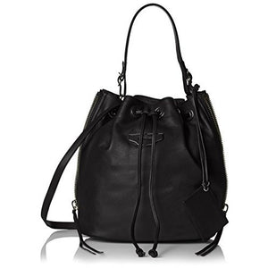 Balenciaga Women's Leather Cross-Body, Black - West Nineties