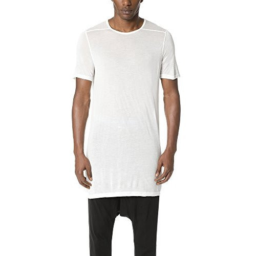 Rick Owens DRKSHDW Men's Short Sleeve Level Tee, Milk