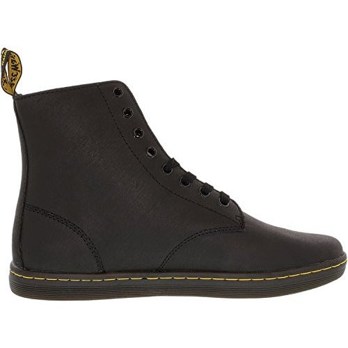 Dr. Martens Men's Tobias Boot,Black Greasy Lamper,9 UK/10 M US - West Nineties